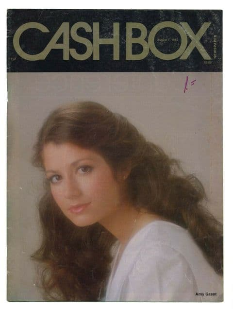 Cash Box music industry magazine August 7 1982 Amy Grant + gospel music booklet
